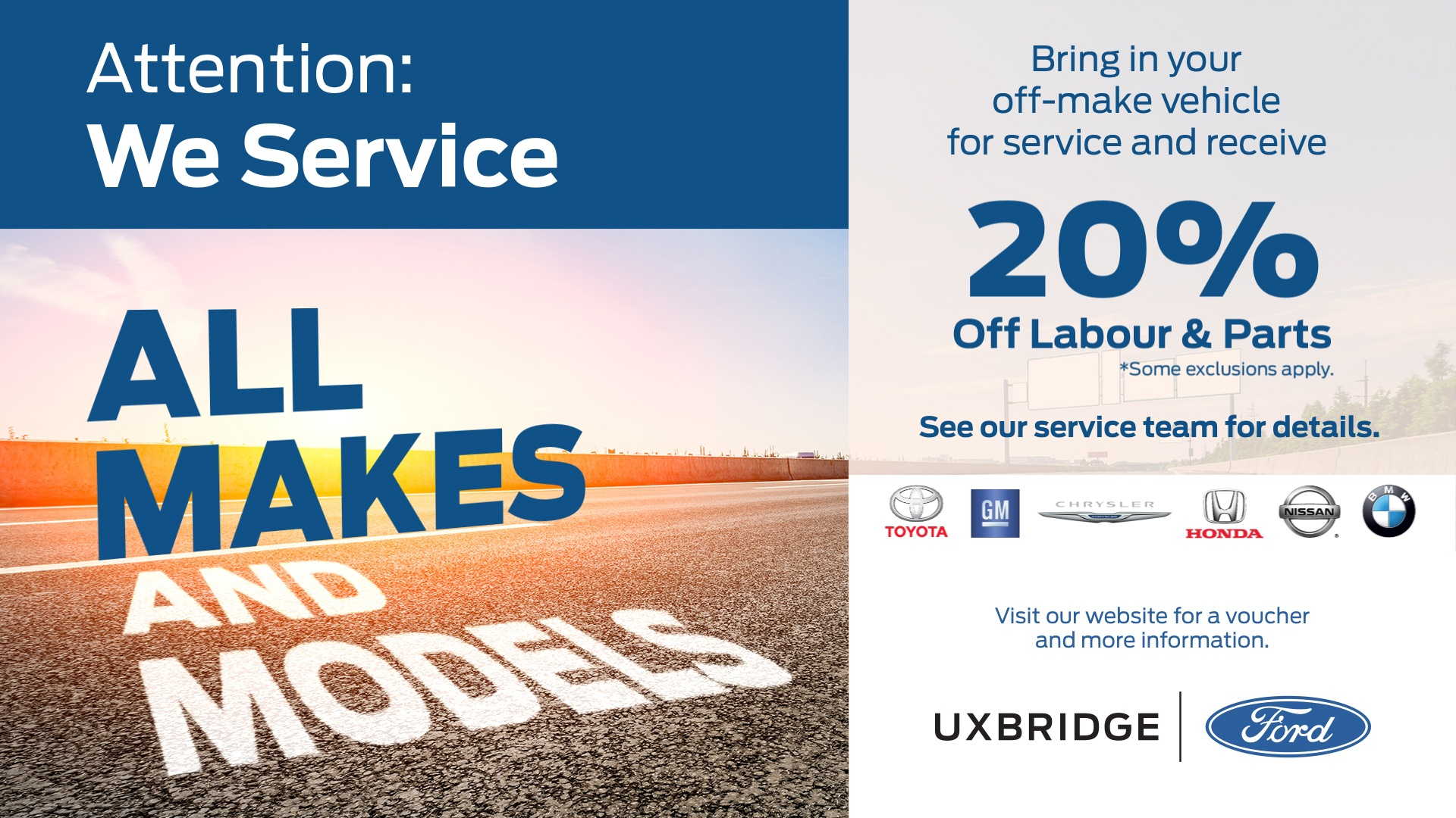UxbridgeFord-OffMakeSpecial